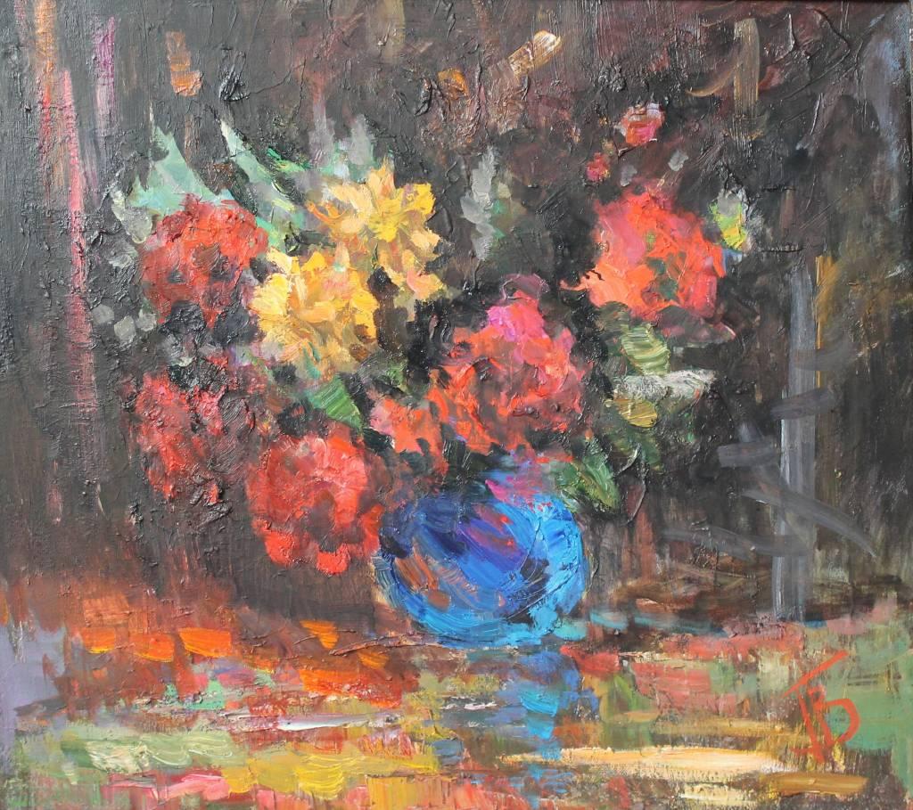 Pavel Veselkin-Red flowers