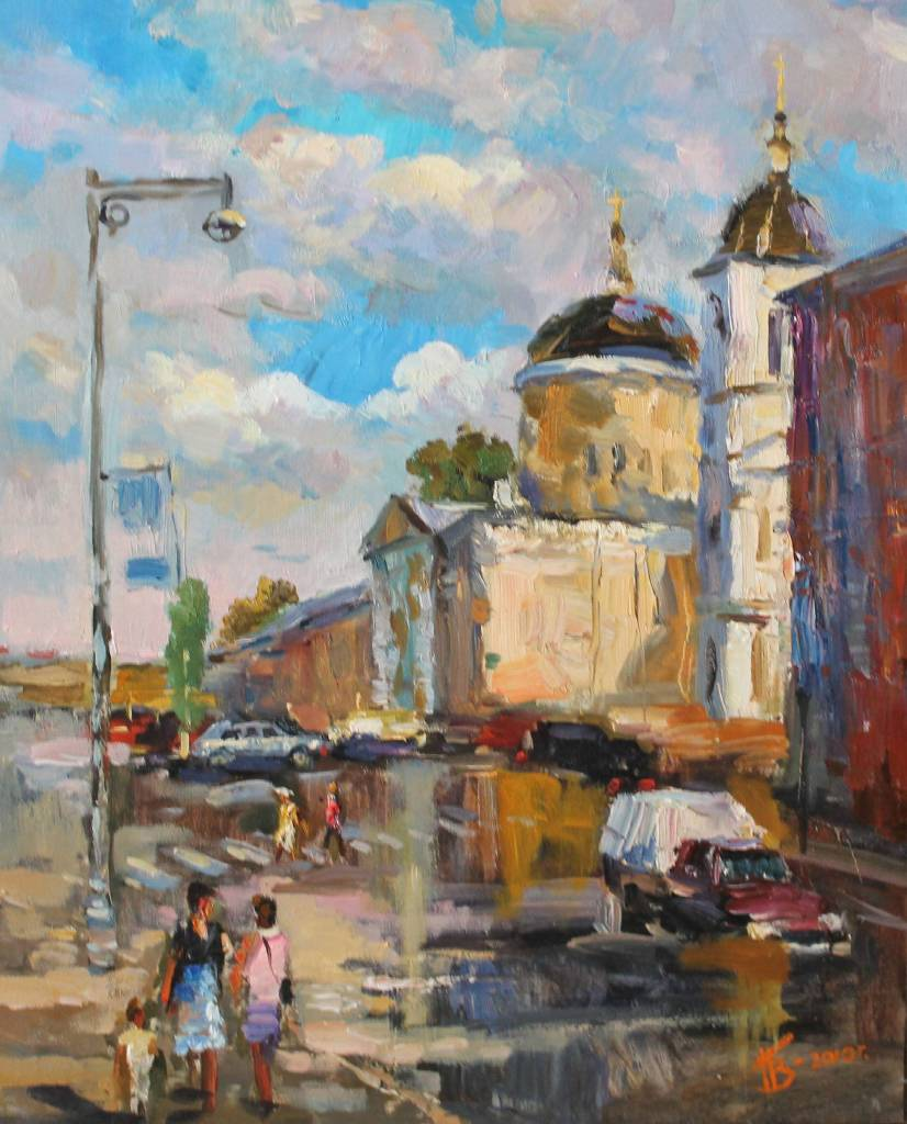 Pavel Veselkin-On the streets of Tver