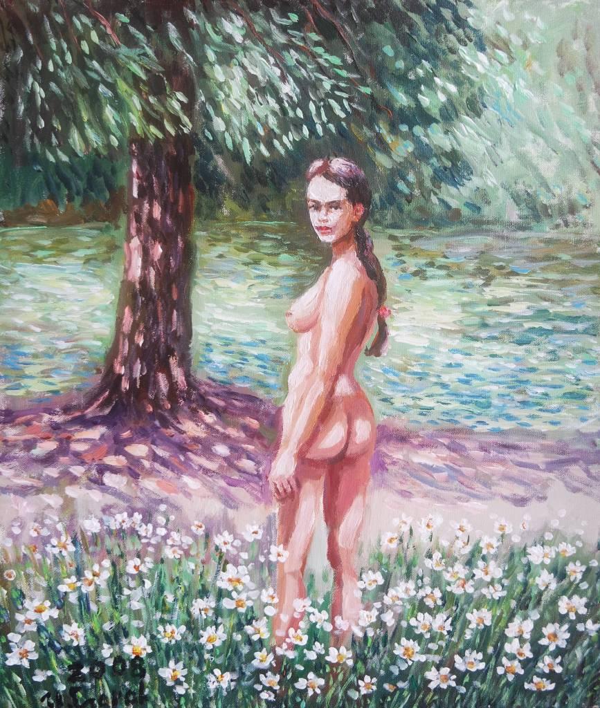 Ivan Yehorov-Pond Girl 池邊女孩