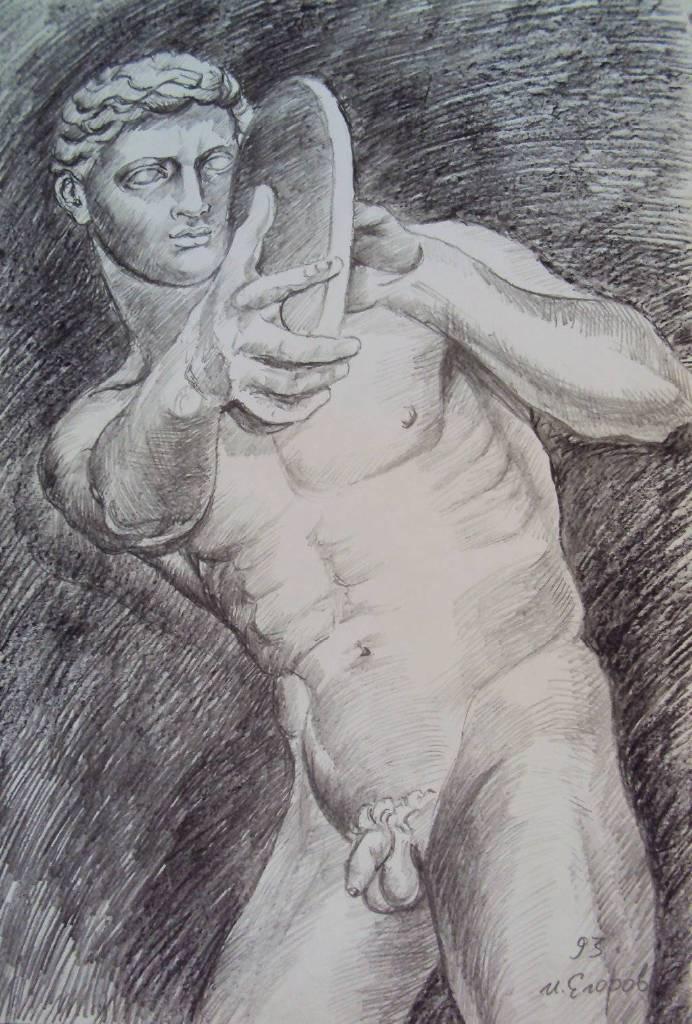 Ivan Yehorov-Disc Man 擲鐵餅的人