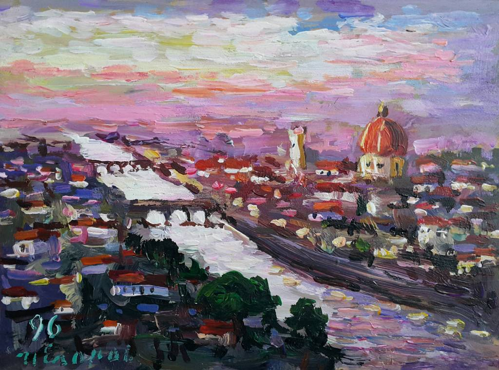 Ivan Yehorov-佛羅倫斯黃昏 Florence Twilight