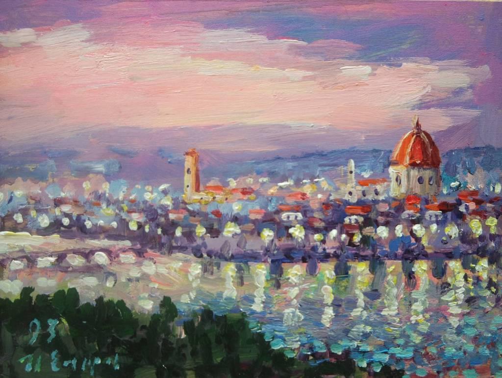 Ivan Yehorov-佛羅倫斯之夜 Florence Night