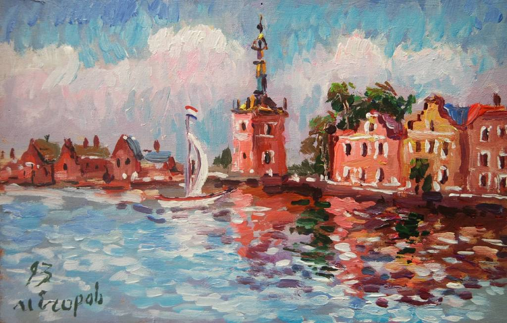 Ivan Yehorov-阿姆斯特丹舊市區 Amsterdam Old Town