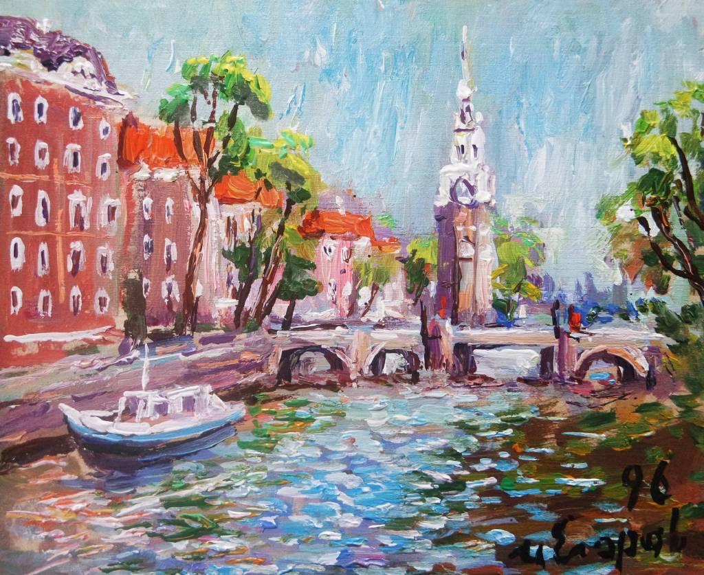 Ivan Yehorov-阿姆斯特丹水手聚會處 Amsterdam Montelbannstoren