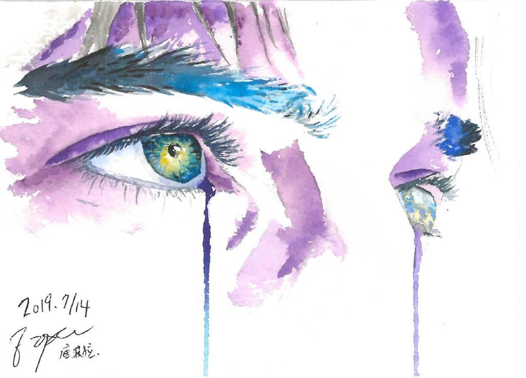 陳紫晴-紫色憂鬱I