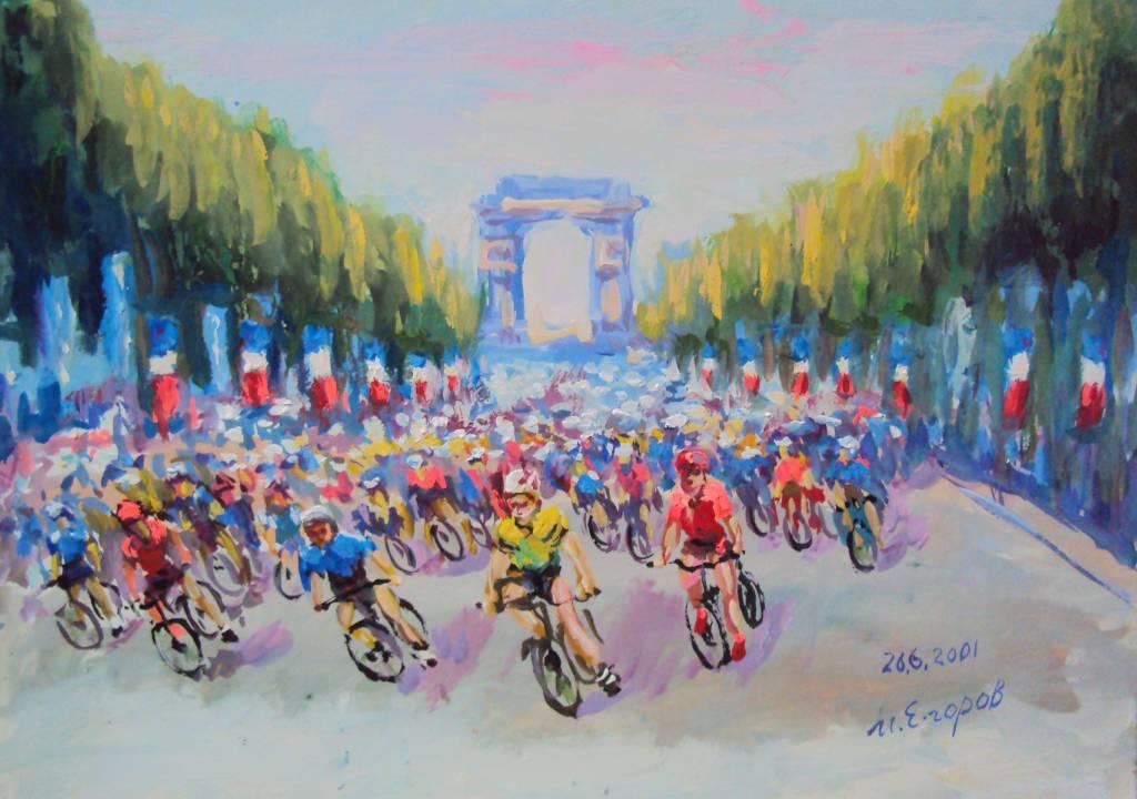 Ivan Yehorov-環法賽 Tour de France