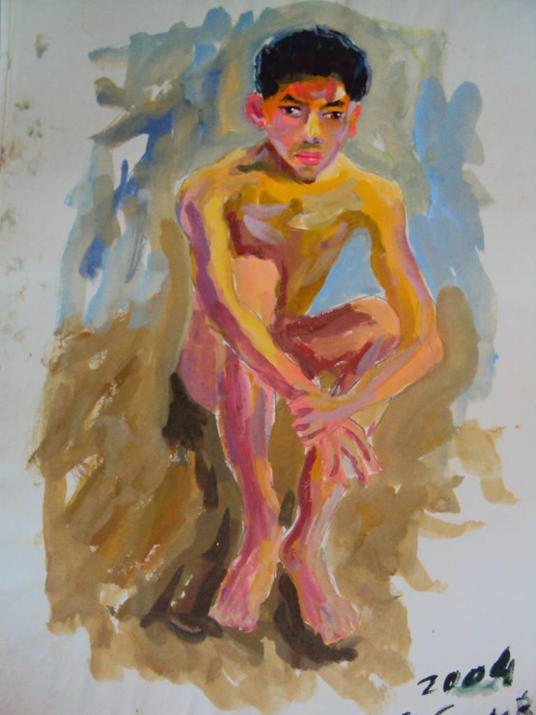 Ivan Yehorov-裸男-1 Nude Man