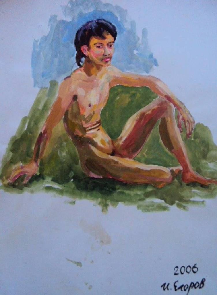 Ivan Yehorov-裸男-2 Nude Man