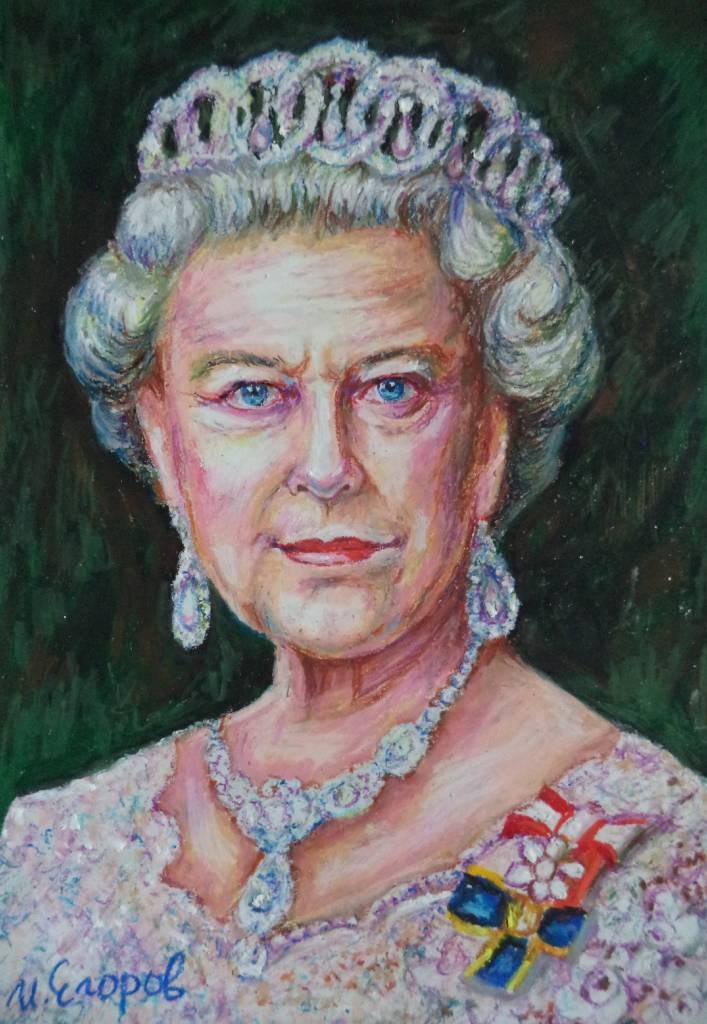 Ivan Yehorov- Queen Elizabeth II