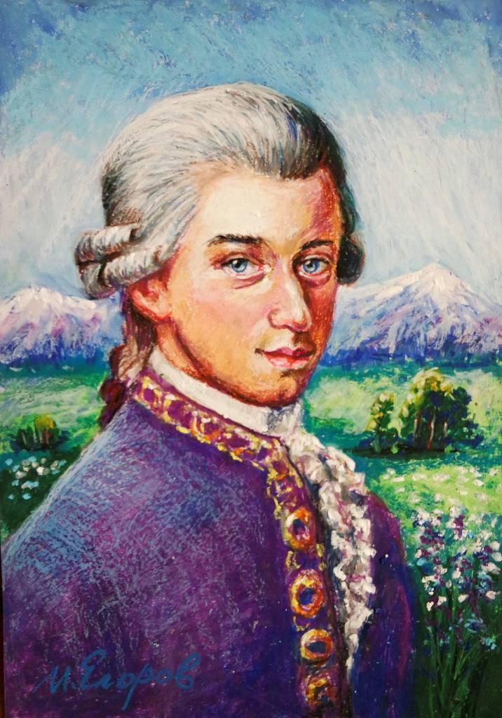 Ivan Yehorov-莫札特 Wolfgang A. Mozart