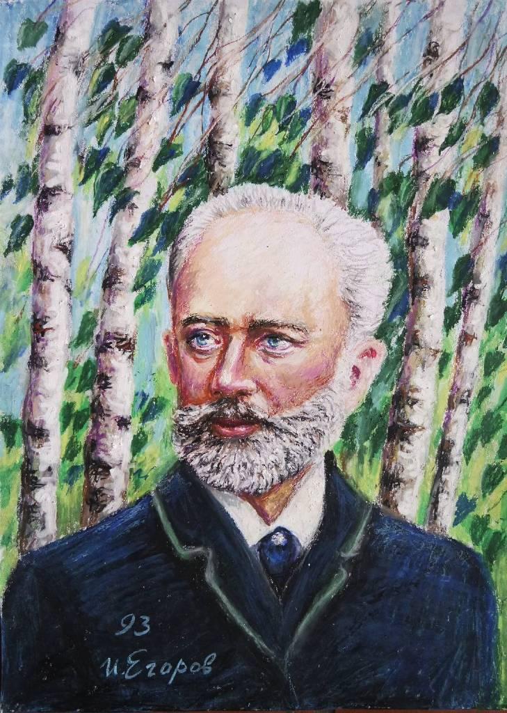 Ivan Yehorov-柴可夫斯基 Pyotr Ilyich Tchaikovsky