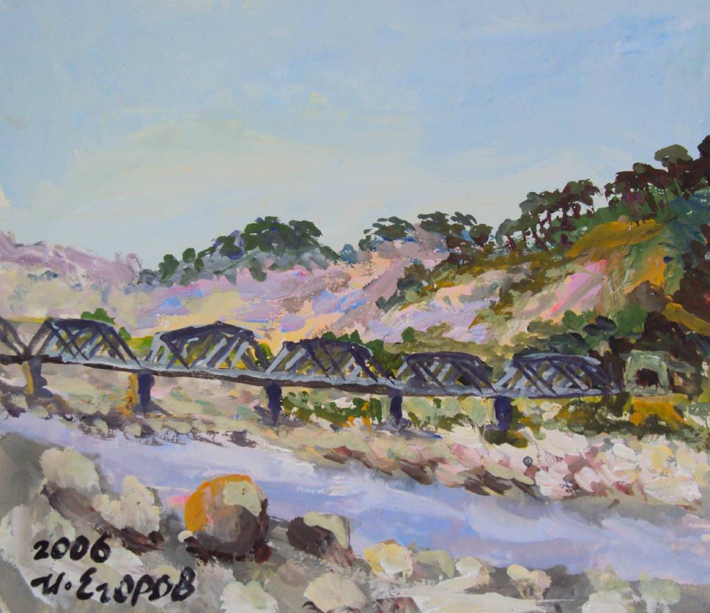 Ivan Yehorov-鐵道橋 Old Railway Bridge