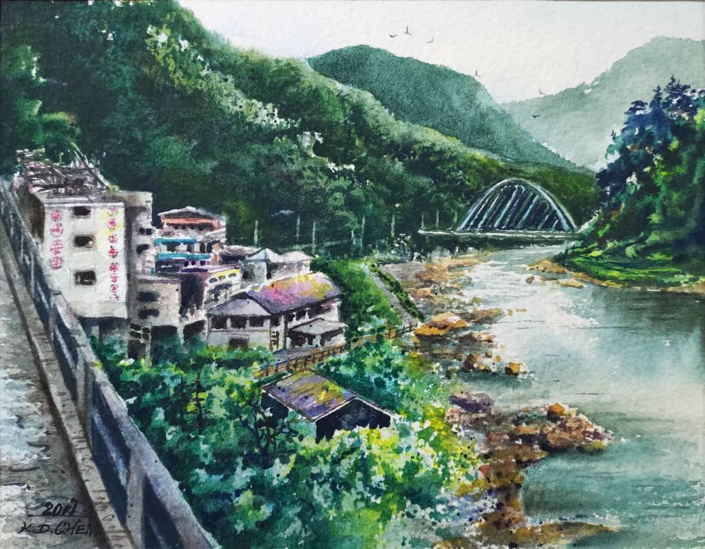 陳國棟-猴硐風光-新舊之間