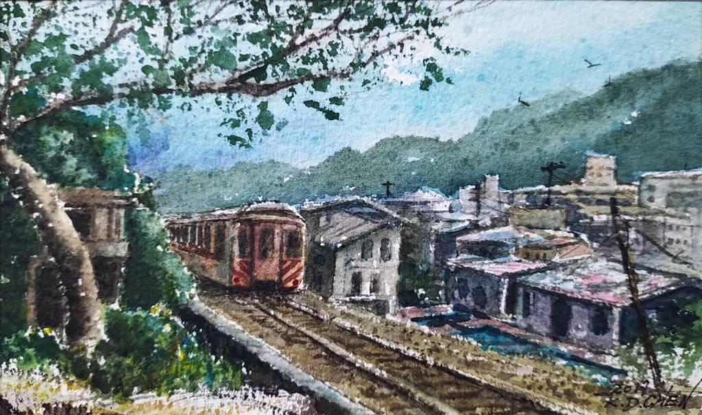 陳國棟-雙溪鐵道風光