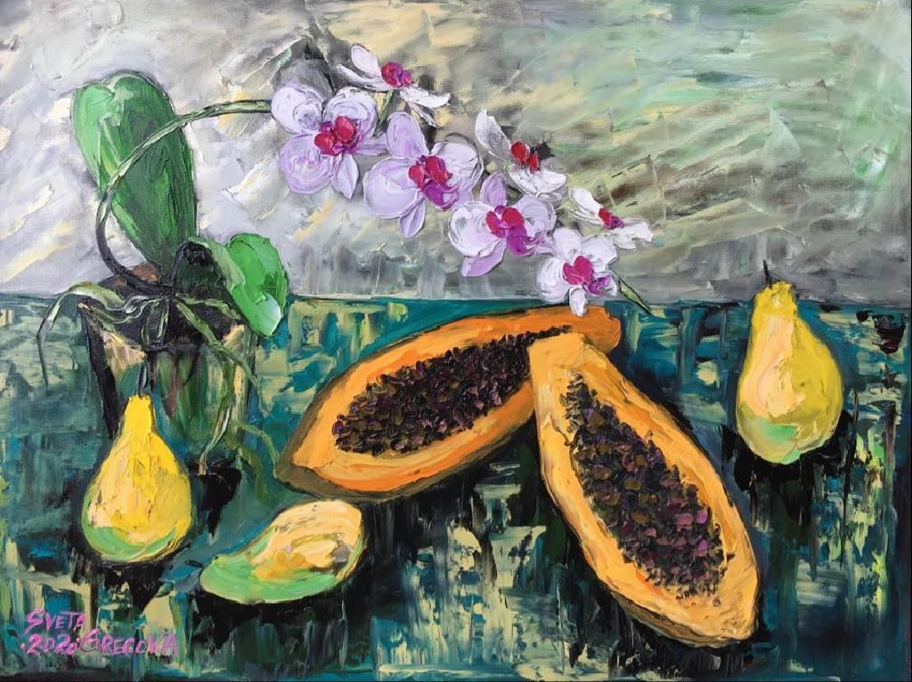葛拉娜-Papaya & pears