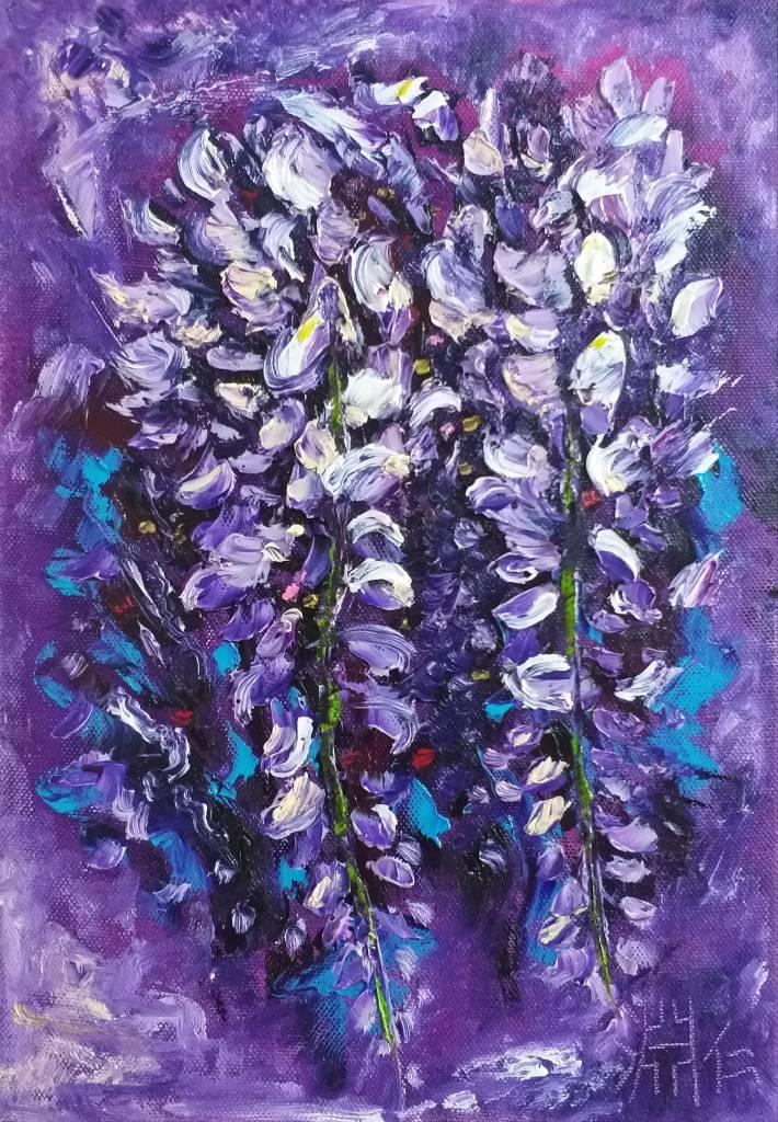 鄭淵仁-紫籐花