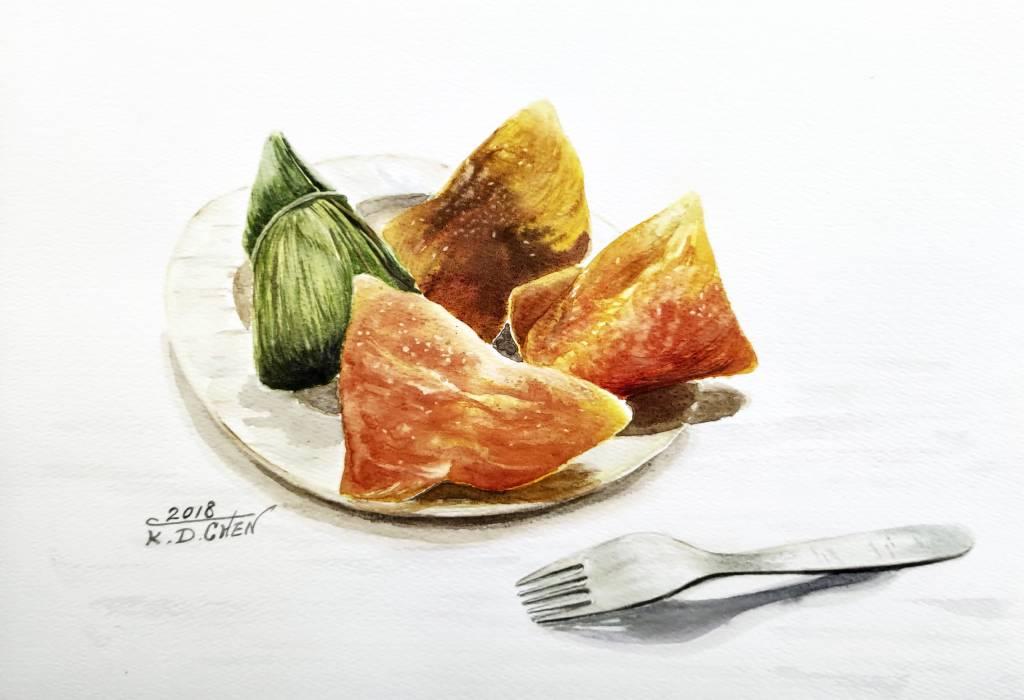 陳國棟-美味甜粽