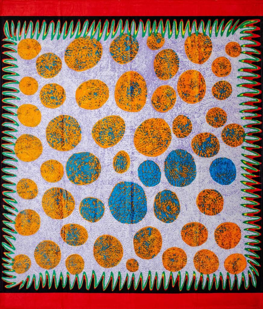 多納藝術-草間彌生 浴巾