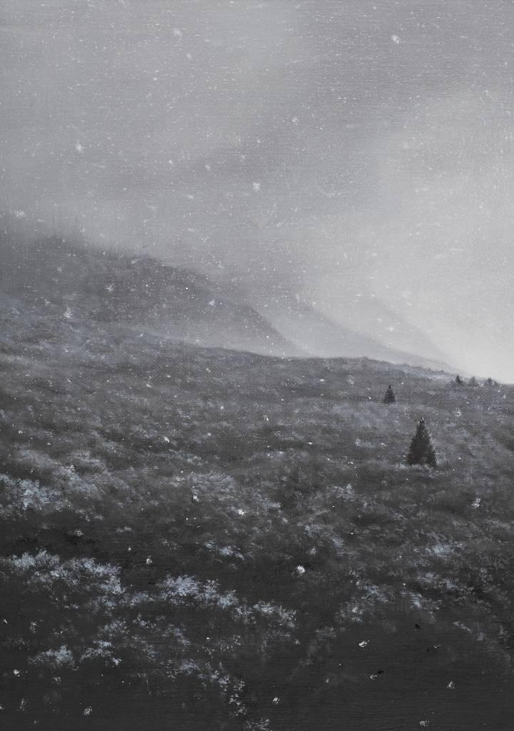 多納藝術-傅作新 山雪