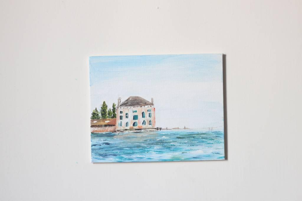 廖鈺娟-海邊小屋