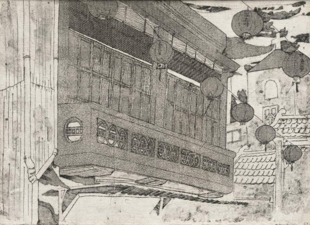 109年「璞玉發光-全國藝術行銷活動」得獎者作品聯展-時代正在經歷建築三