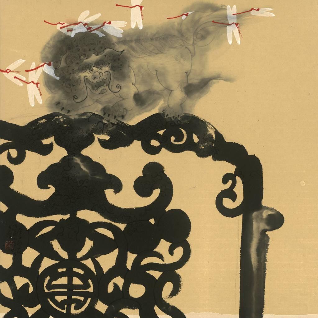 109年「璞玉發光-全國藝術行銷活動」得獎者作品聯展-黑傢具-呼嘯小怪獸5