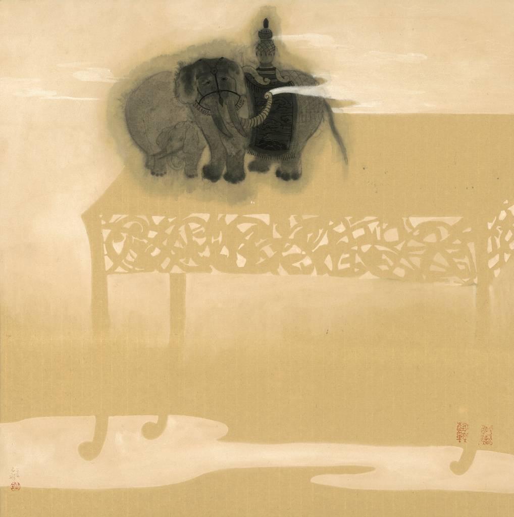 109年「璞玉發光-全國藝術行銷活動」得獎者作品聯展-黑傢具-呼嘯小怪獸6