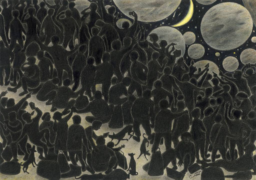 109年「璞玉發光-全國藝術行銷活動」得獎者作品聯展-明月幾時圓