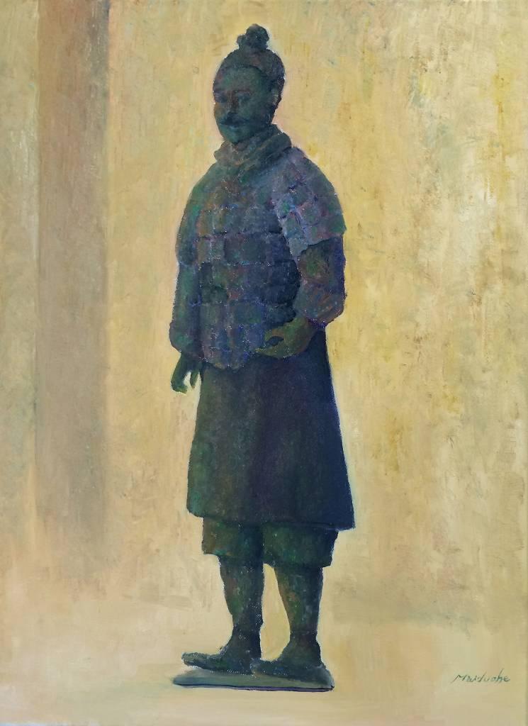 麥朵赫-青銅俑