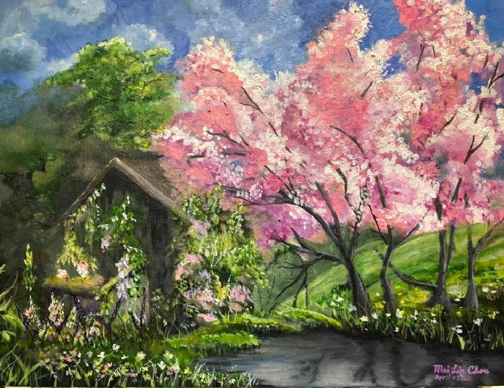 Mei Lin Chou-Pink Blossom