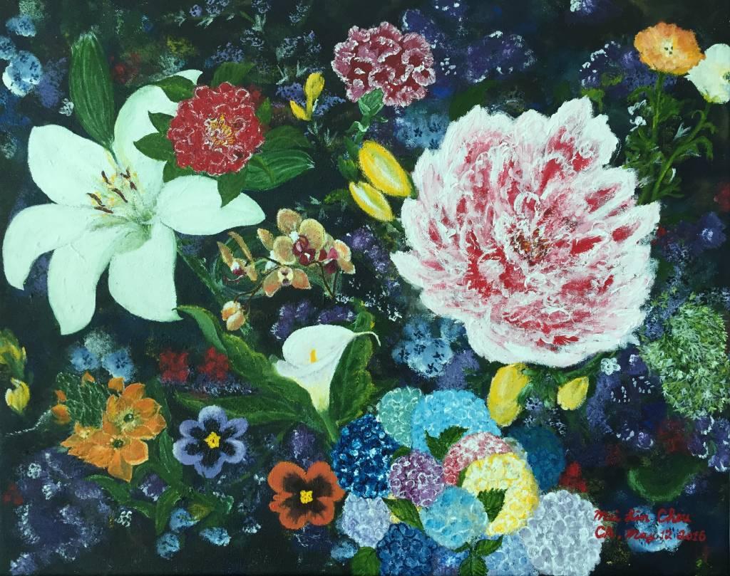 Mei Lin Chou-Blooming