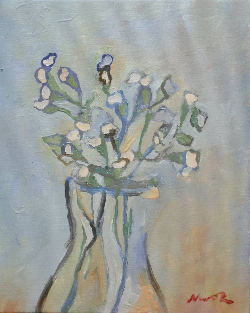 陳萱-flower blue