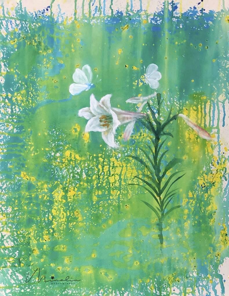 Mina-百合花