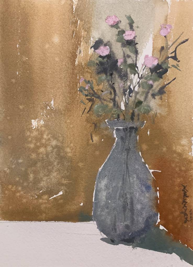 楊艮實-寫生乾燥花