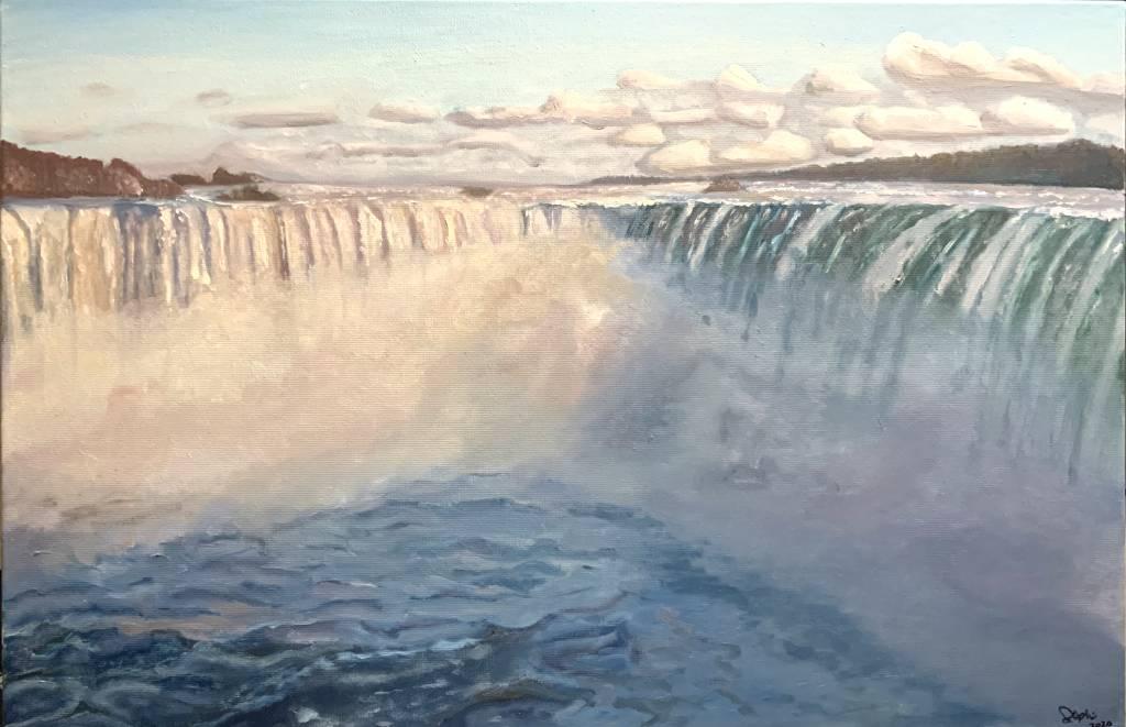 陳嘉盈 (Steph)-Niagara Falls 尼亚加拉瀑布
