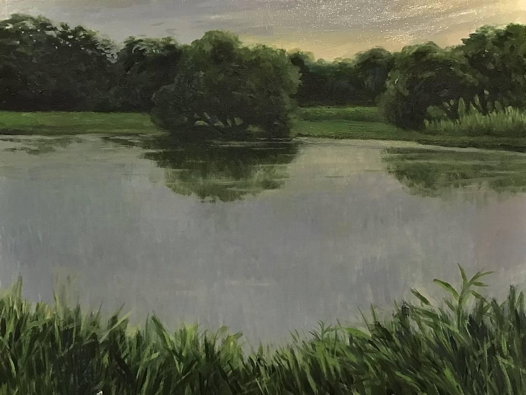 陳治宇-傍晚的浮洲濕地