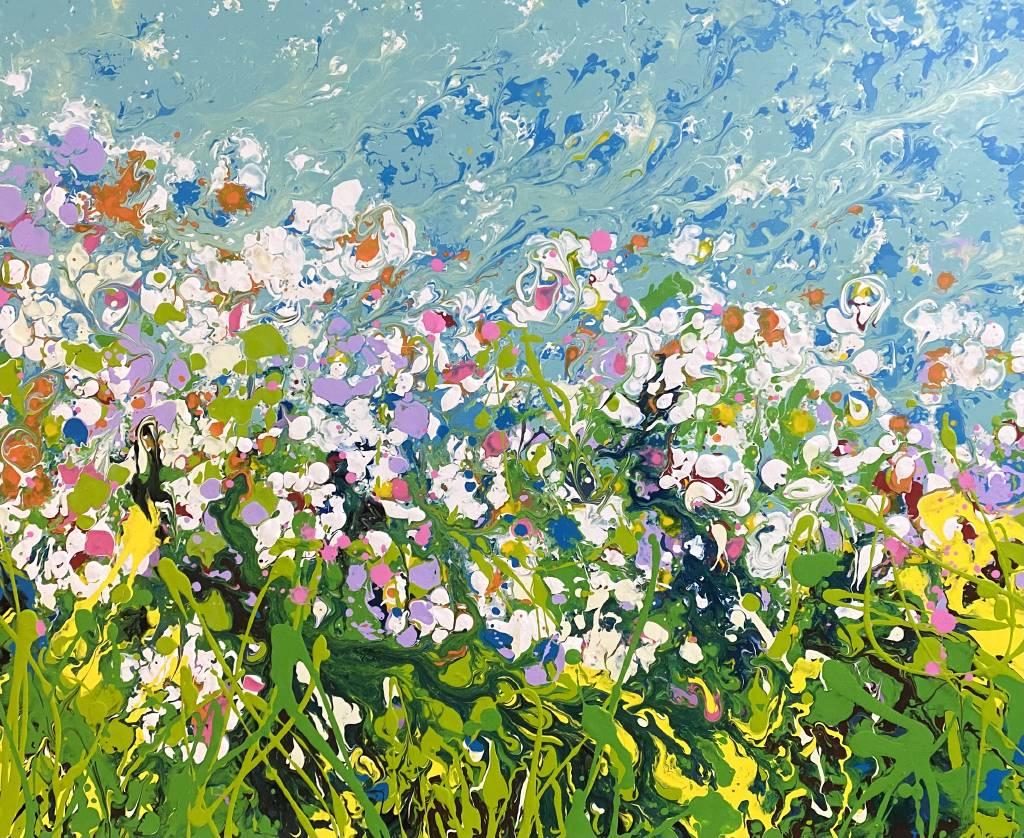 曾日昇-心靈藝術生命之花系列