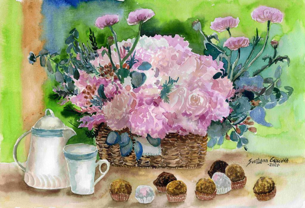 葛拉娜-Lovely bouquet