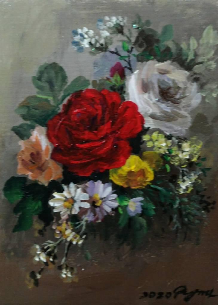 彭明力-玫瑰花 F015