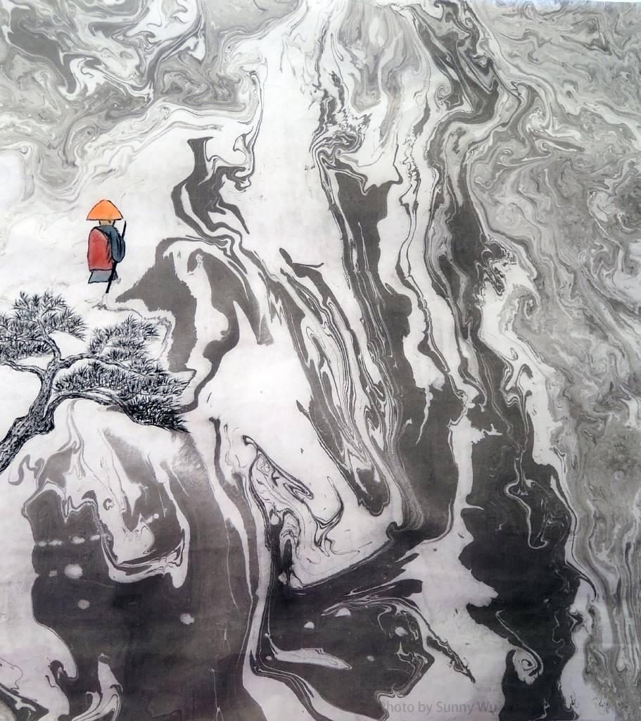 吳秀芳-修行系列~~千山暮雪