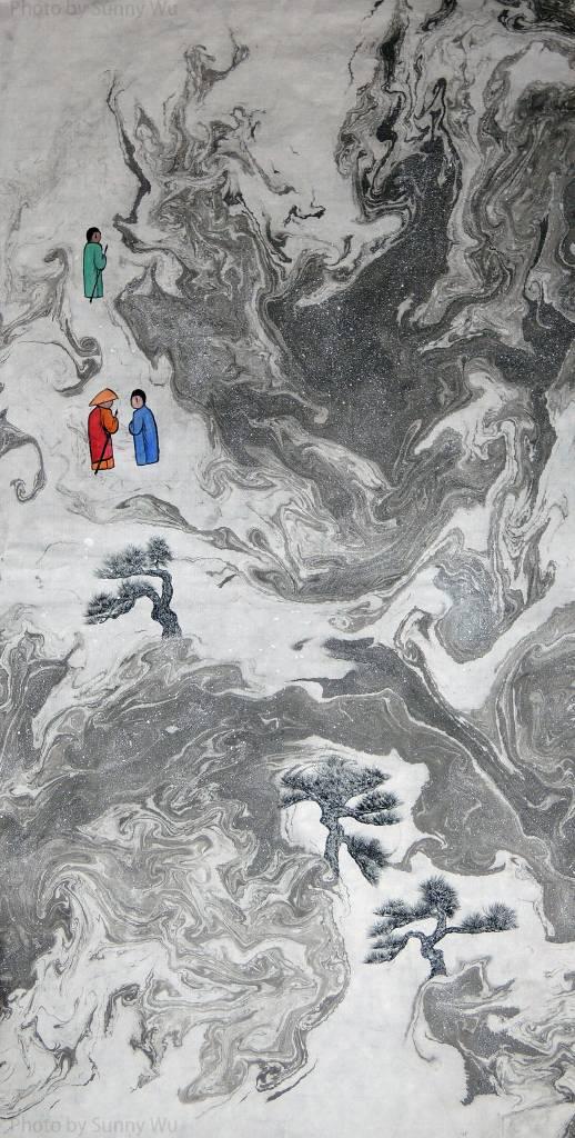 吳秀芳-修行系列~~寒山問禪-17