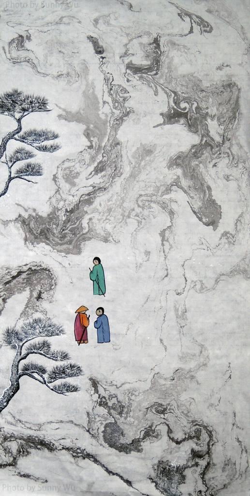 吳秀芳-修行系列~~寒山問禪-31