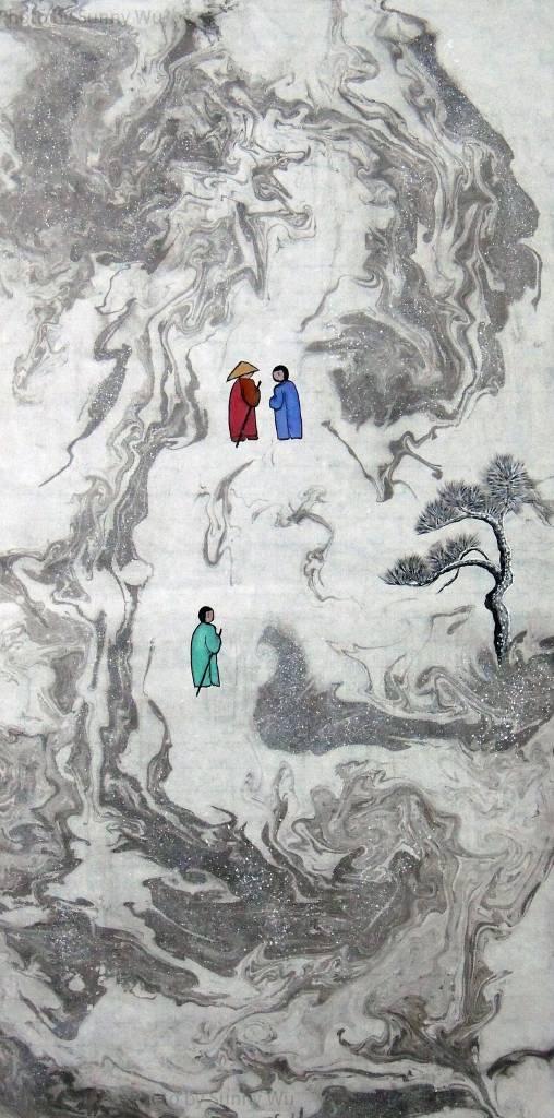 吳秀芳-修行系列~~寒山問禪-32