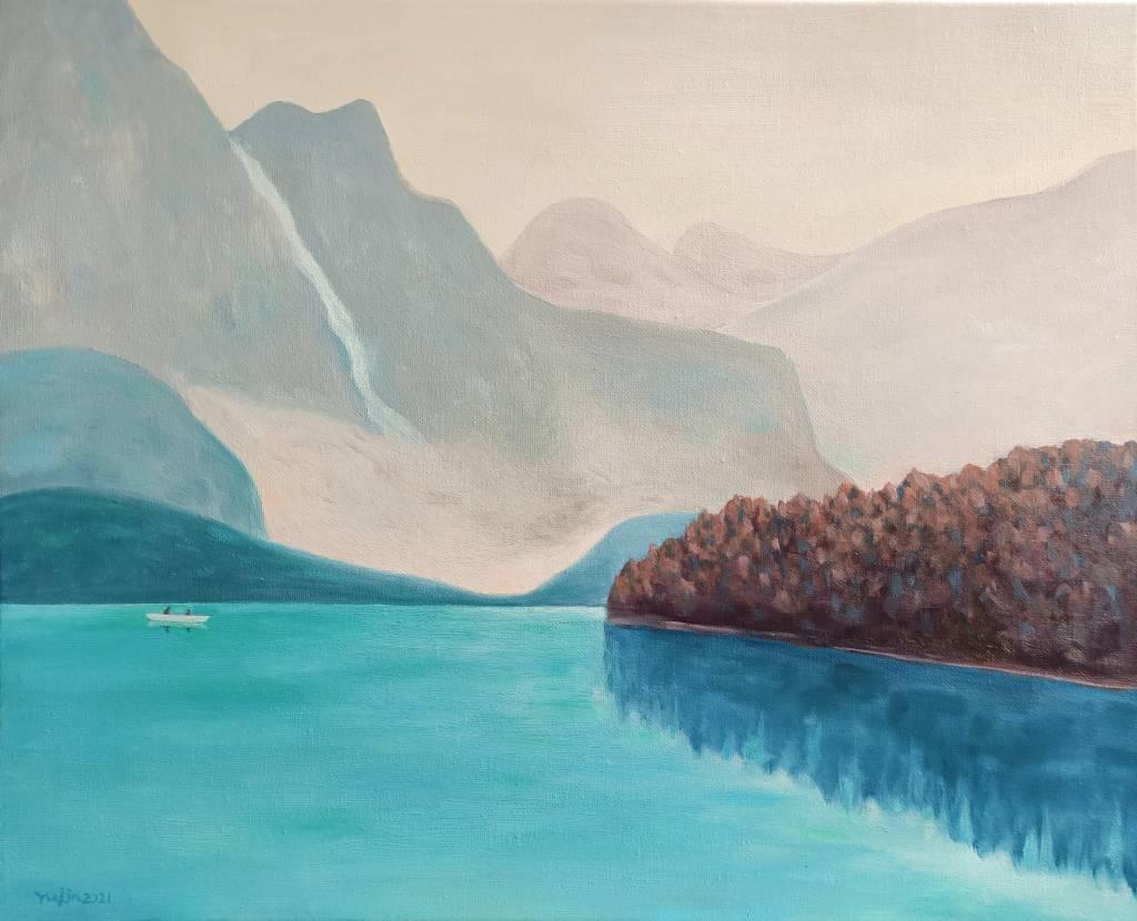 楊玉金-澄淨的湖水