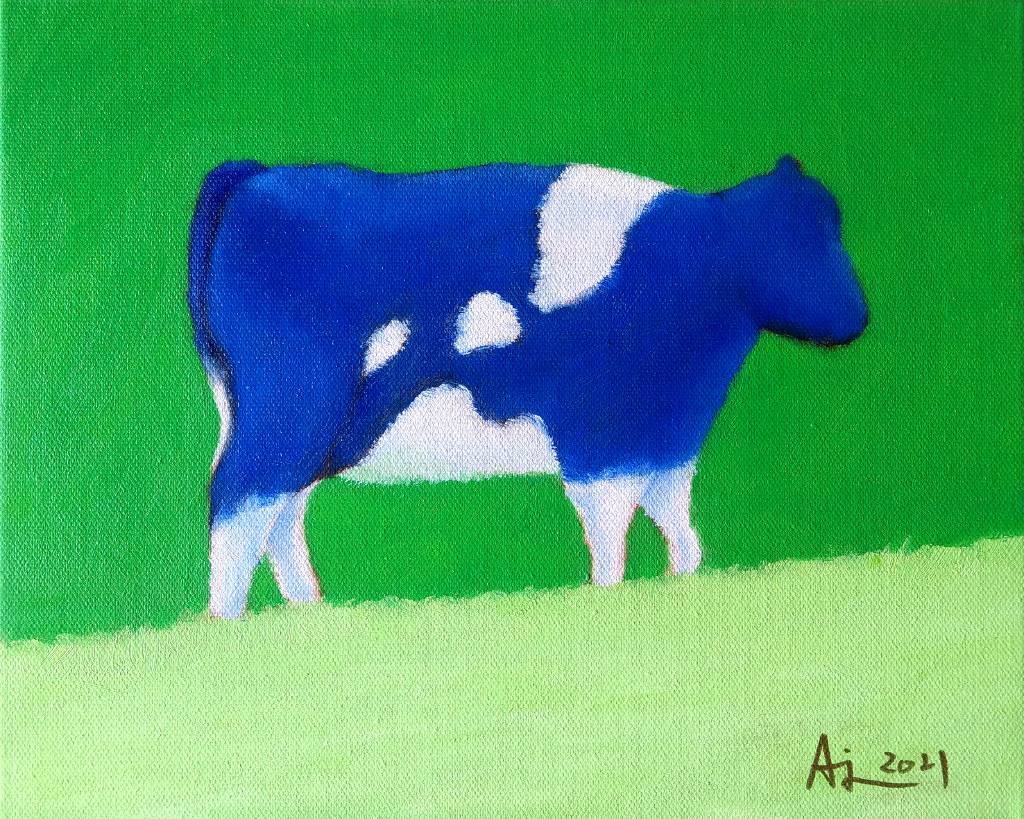 魏安杰-藍色乳牛