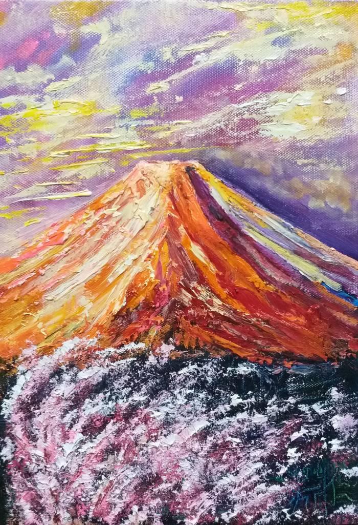 鄭淵仁-富士山~2