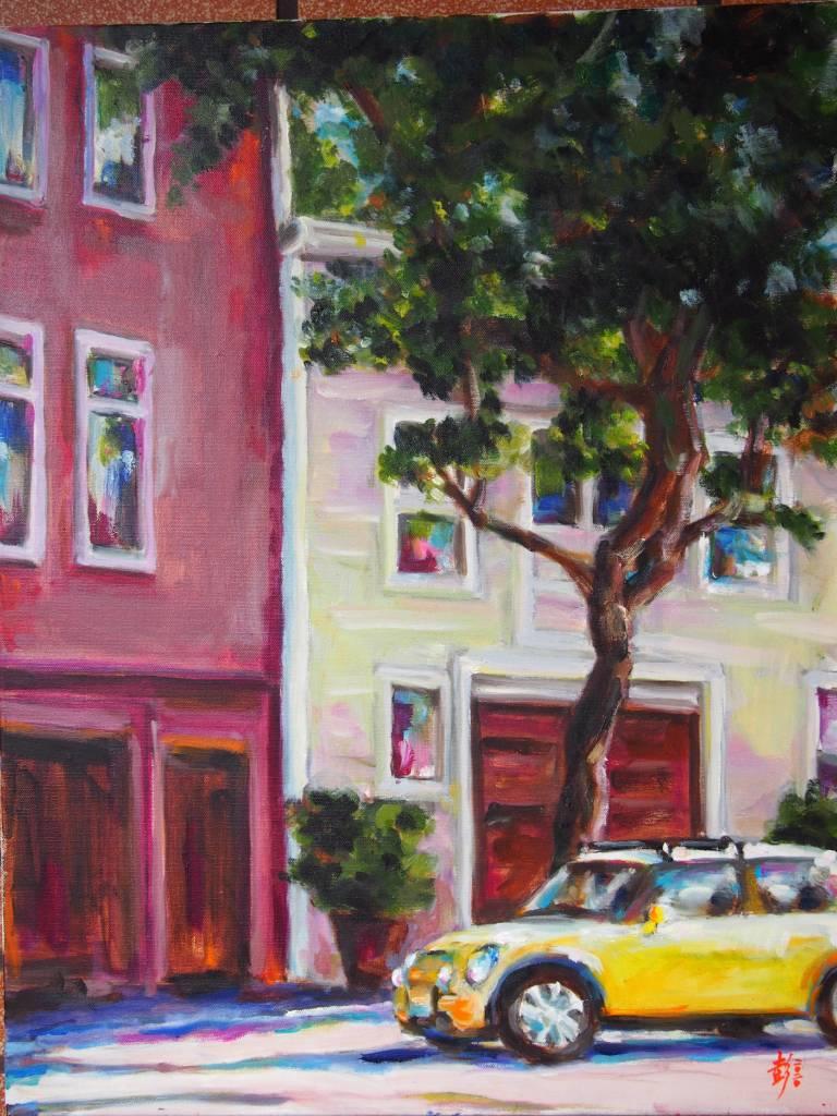 彭滂沱-舊金山街景(一)