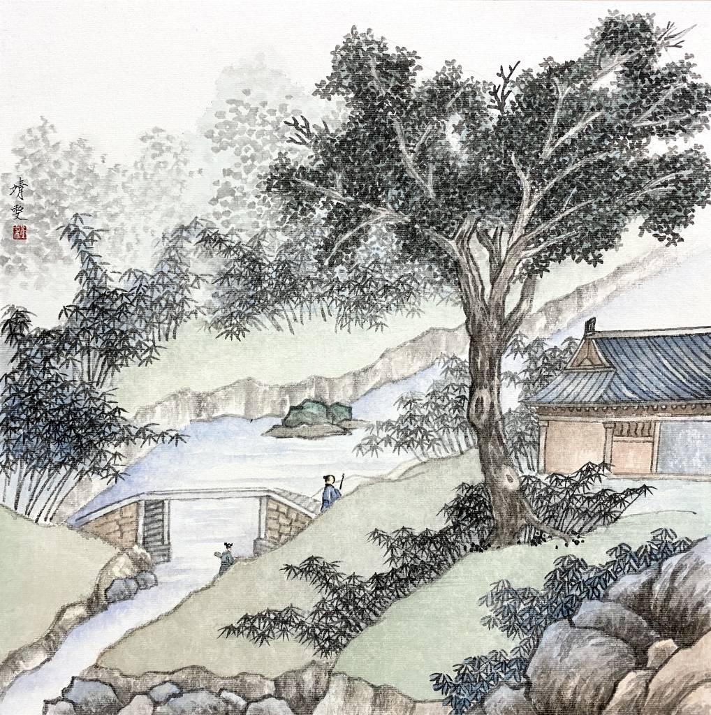 蘇靖雯-清河漫步