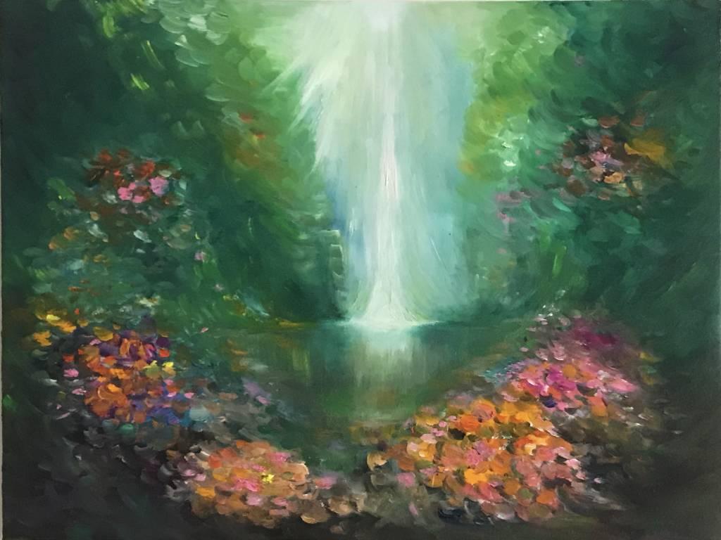 張惠情-山谷中的小花
