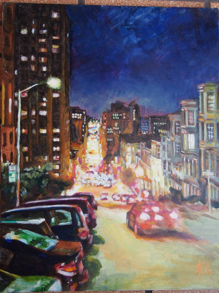 彭滂沱-舊金山夜景